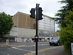 The X Factor (UK TV series) - Entrance to Fountain Studios, where the live shows were previously filmed