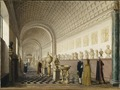 The Inner Gallery of the Royal Museum at the Royal Palace, Stockholm (Pehr Hilleström d.ä.) - Nationalmuseum - 17967.tif
