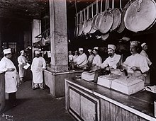 The Kitchen at Delmonico's, 1902.JPG