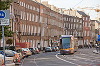 The LUAS on Harcourt Street (2855290221).jpg