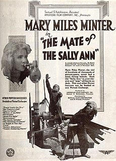 <i>The Mate of the Sally Ann</i> 1917 film by Henry King