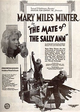 Advertentie voor The Mate of the Sally Ann