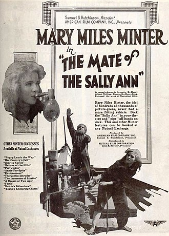 The Mate of the Sally Ann - Advertisement for film