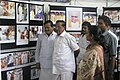 The Minister for Housing & Slum Clearance, Tamil Nadu, Shri Suba Thangavelan and the District Collector Smt R Vasuki visiting stalls at the Info Expo Public Information Campaign in Dindigul, Tamil Nadu on July 11, 2006.jpg