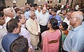 The Minister of State for Labour and Employment (Independent Charge), Shri Bandaru Dattatreya on a surprise visit to ESIC hospital, in Faridabad, Haryana on August 04, 2017.jpg