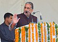The Minister of State for Social Justice & Empowerment, Shri Krishan Pal addressing at ADIP-SPL Distribution Camp of the Aids and Equipments to Divyangjans, in Faridabad, Haryana on November 25, 2016.jpg