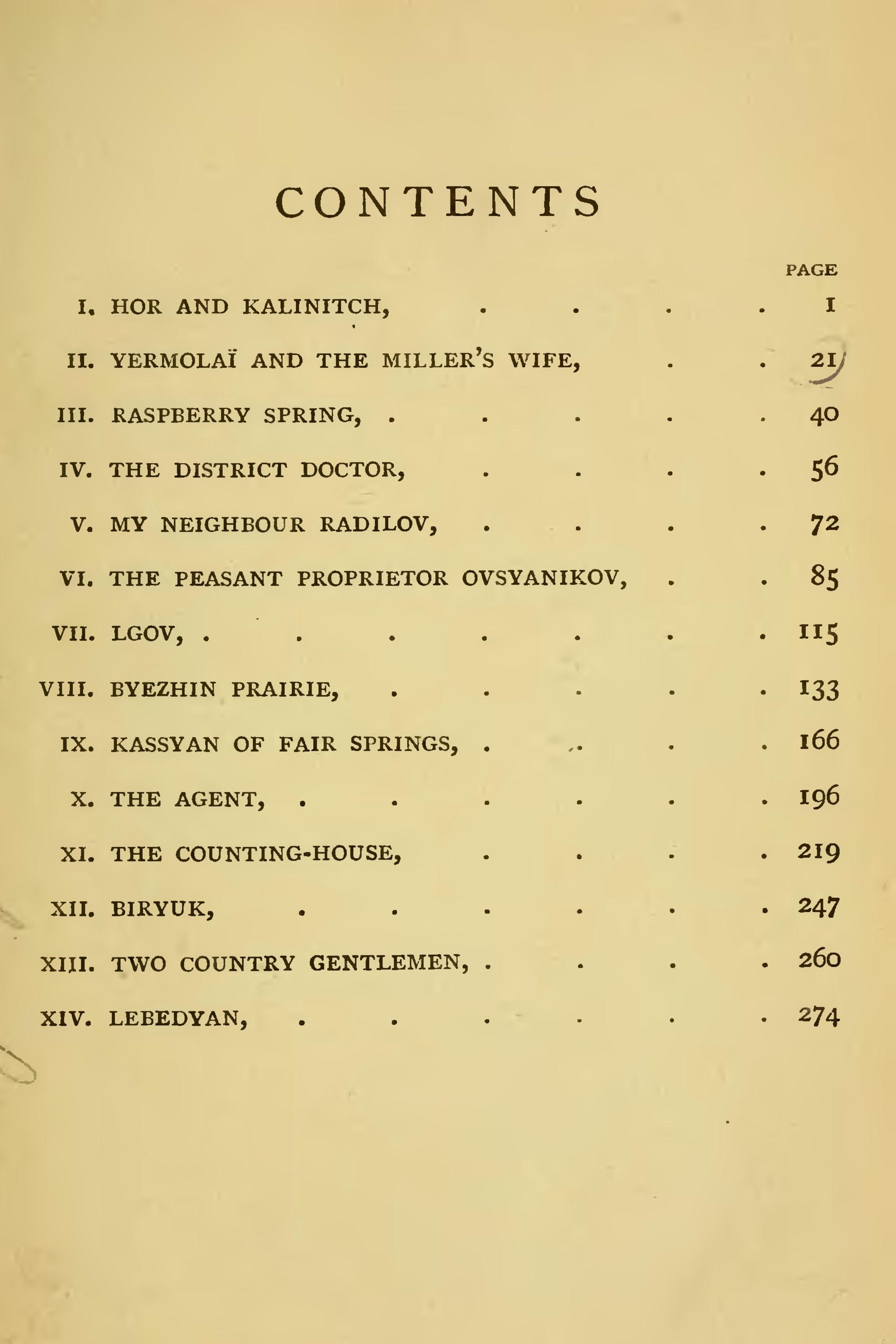 I. Turgenev, Biryuk: what is the main theme of the story 61