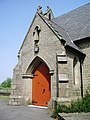 The Parish Church of St John the Baptist, Bircle, Porch - geograph.org.uk - 814713.jpg