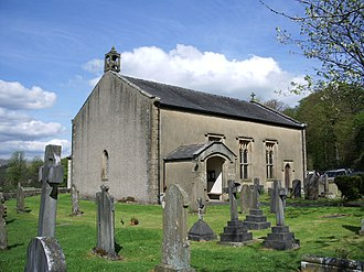 Bowland Forest Low - Image: The Parish Church of St Michael, Whitewell geograph.org.uk 414108