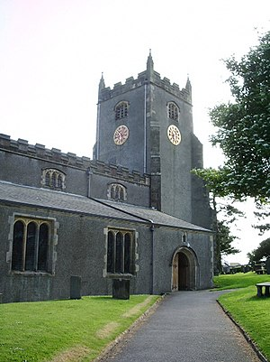 Listed buildings in Warton, Lancaster - Image: The Parish Church of St Oswald, King and Martyr, Warton, Carnforth geograph.org.uk 846459