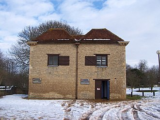 Great Linford - Image: The Pavilion Great Linford Arts Centre geograph.org.uk 1157689