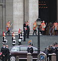 The Queen's car arriving at St Paul's.jpg