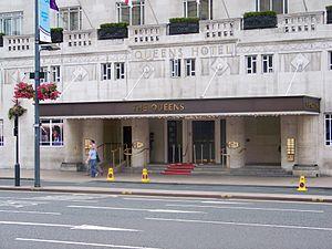 Queens Hotel, Leeds - Queens Hotel Main Entrance