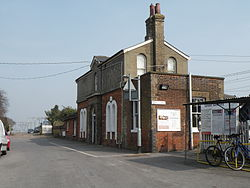 The Railway Station at Great Bentley (geograph 3406748).jpg