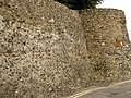 The Roman Town Wall, East Hill to Queen Street 2.JPG
