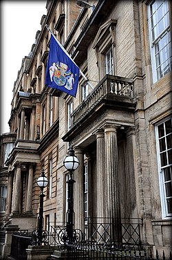 The Royal College of Physicians and Surgeons of Glasgow, 232-242 St. Vincent Street, Glasgow, Scotland.JPG