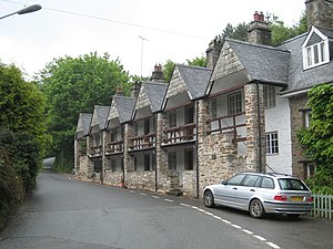 St Germans, Cornwall - Sir William Moyle's Almshouses