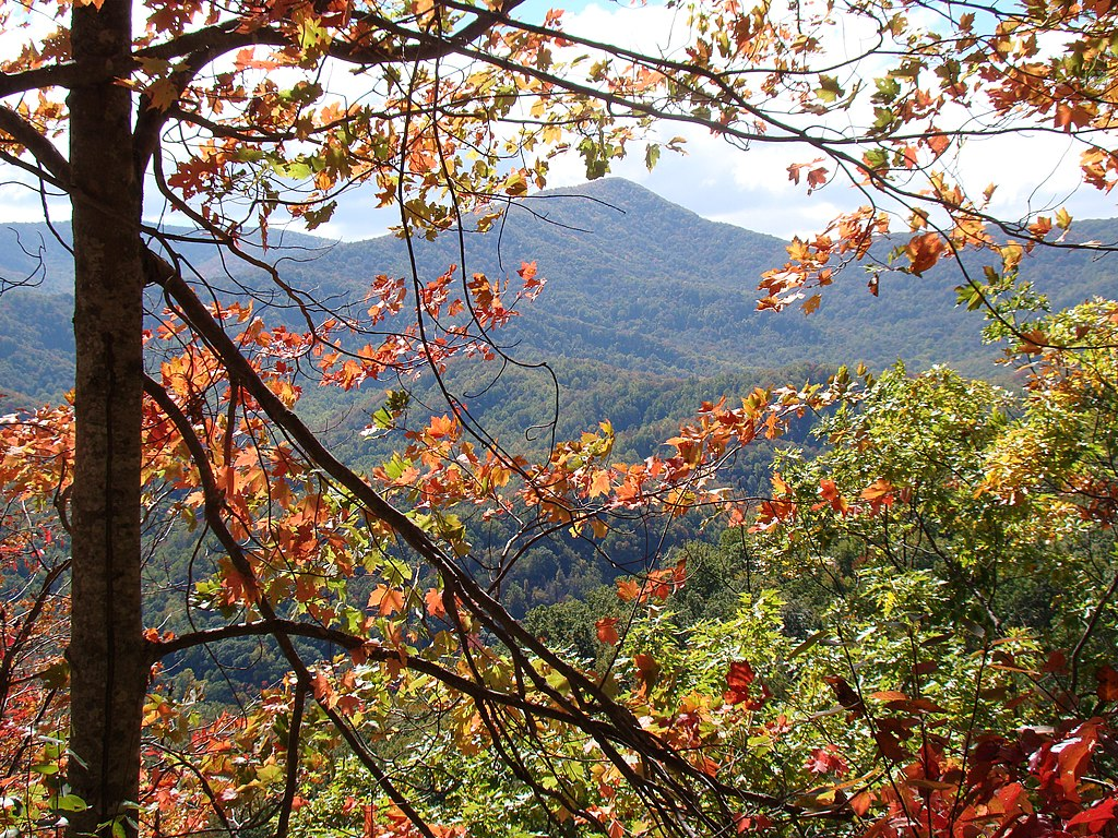 The Smoky Mountains, in Great Smoky Mountains National Park