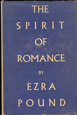 The Spirit of Romance - Dust jacket for the revised edition (1952)