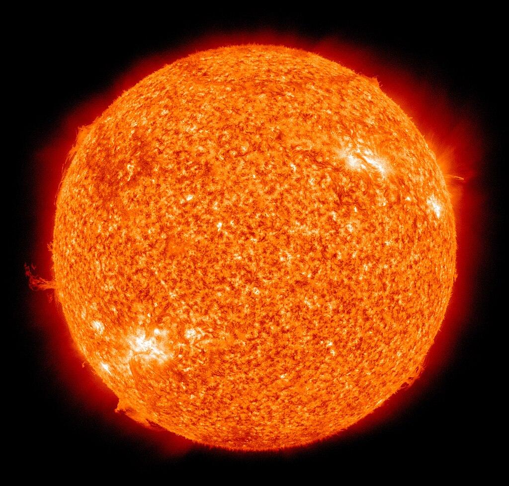 The Sun, a G-type star