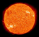 The Sun, a G-type star