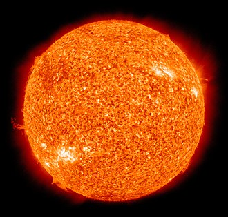 Nuclear fusion - The Sun is a main-sequence star, and thus generates its energy by nuclear fusion of hydrogen nuclei into helium. In its core, the Sun fuses 620 million metric tons of hydrogen each second.