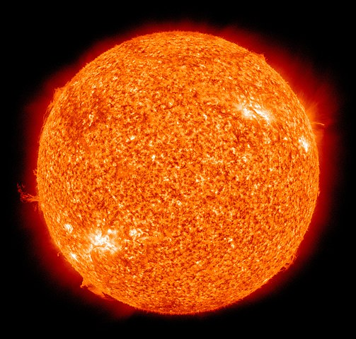 Solen och alla de andra stjärnorna består av plasma.