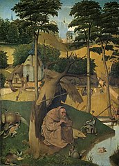 Hieronymus Bosch | The Temptation of St. Anthony