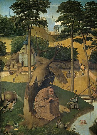 The Temptation of St Anthony (Bosch painting) - Image: The Temptation of St Anthony (Bosch)