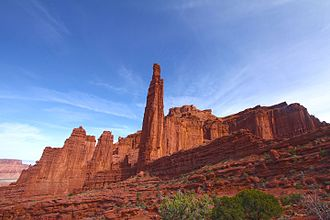 Fisher Towers - Image: The Titan