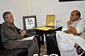 The Union Home Minister, Shri Rajnath Singh meeting the Governor of Uttar Pradesh, Shri B.L. Joshi, in New Delhi on June 03, 2014.jpg