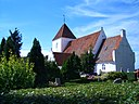The church on the island of Femo in Denmark.JPG