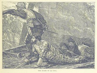 Juan de la Cosa - An 1887 illustration of de la Cosa's death
