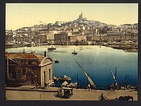 Il porto di Marsiglia tra il 1890 e il 1900