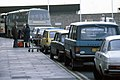 The loading-unloading zone at Cardiff Airport - geograph.org.uk - 425123.jpg