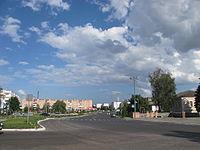 The main street of Lokhvytsia.JPG