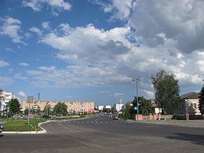 The main street of Lokhvytsia.JPG