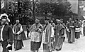 The march of the Archbishops - Bishops etc., outside Pro Cathedral, Congress 1932, Dublin City (33048402845).jpg