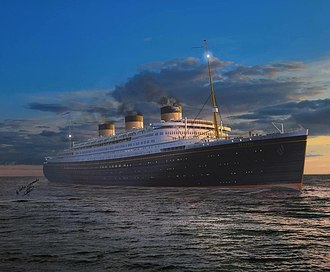 Oceanic (unfinished ship) - Image: The ocean liner which has never been