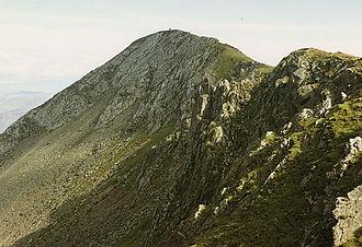 Moelwyn Mawr - Moelwyn Mawr summit ridge