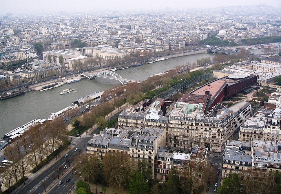 The view from Eiffel Tower1