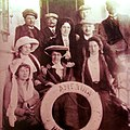 Theater company The Servian National Theater on his trip to U.S.1911.jpg