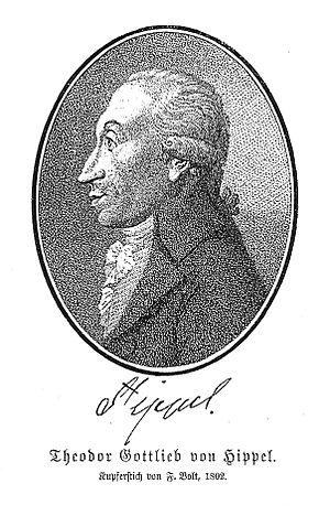 Theodor Gottlieb von Hippel the Elder - Theodor Gottlieb von Hippel