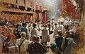 Theodor Josef Ethofer - Der Ritterschlag des Grafen Boos-Waldeck durch den Großmeister des Deutschen Ritterordens Erzherzog - 1706 - Österreichische Galerie Belvedere.jpg