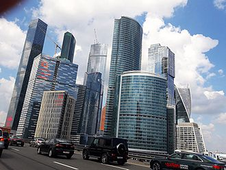 Third Ring Road (Moscow) - Image: Third Ring near Moscow City