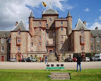 Thomas Maitland, 11th Earl of Lauderdale - Thirlestane Castle, Maitland's home in Berwickshire
