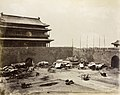 Thomas Child - Gate tower of Qianmen and city walls, Peking NA01-65.jpg