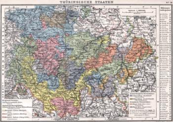 Thueringsche Staaten 1905