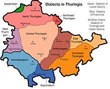 Carte Allemagne Thuringe.Thuringe Wikipedia