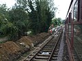 Thuxton station platform two under restoration - geograph.org.uk - 1435023.jpg
